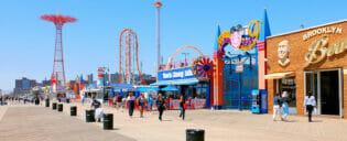 Coney Island a New York