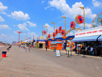 Coney Island à New York - Boardwalk
