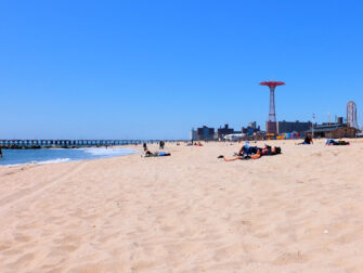 Coney Island à New York - La Plage
