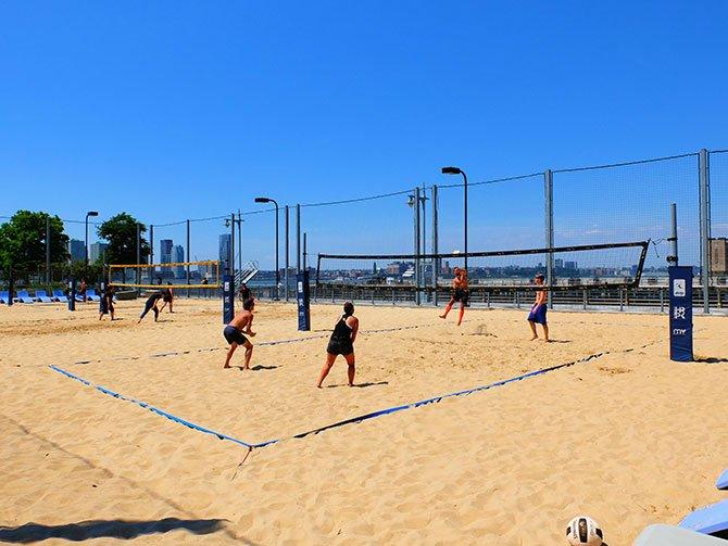 TriBeCa à New York - Beach Volley