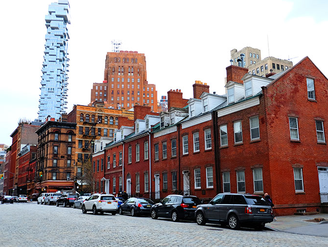 TriBeCa à New York - Harrison Street