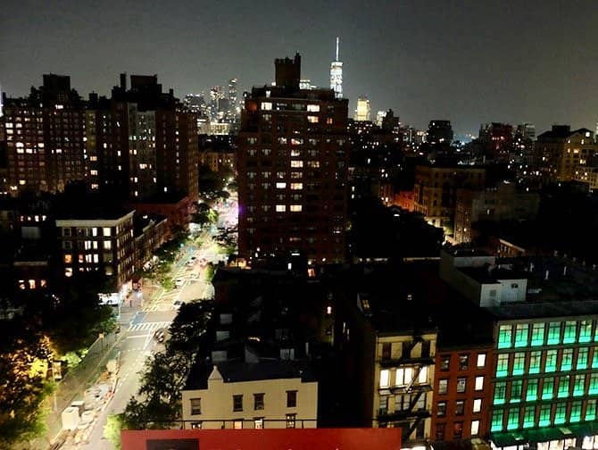 West Village New York - De nuit