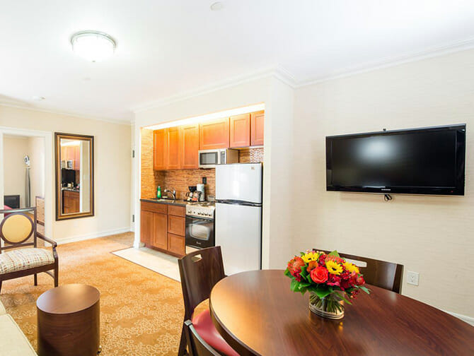 Appartements à New York - Intérieurs des Radio City Apartments