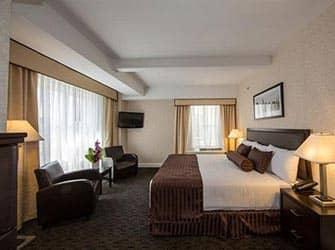 Edison Hotel à NYC - Chambre