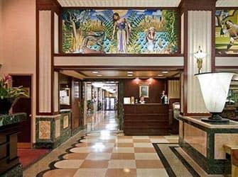 Edison Hotel à NYC - Réception