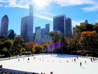 Patinoires à New York - Central Park