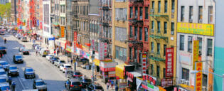 Chinatown a New York
