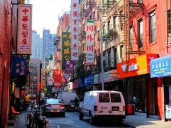 Chinatown-a-New-York-Batiment-Typique