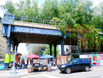 Meatpacking District à New York - The High Line
