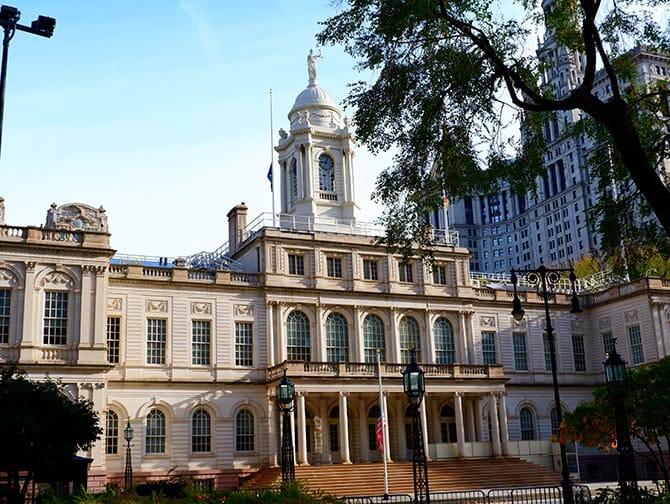 Civic Center a New York