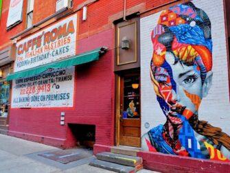 Little Italy à New York - Peinture murale