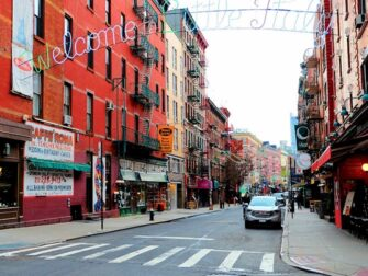 Little Italy à New York - Welcome Sign