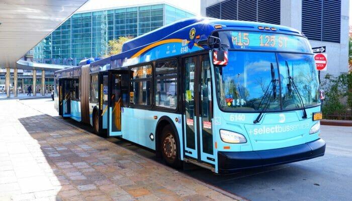 Bus à New York - Bus à la 9th Avenue