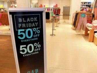 Les soldes a New York Black Friday