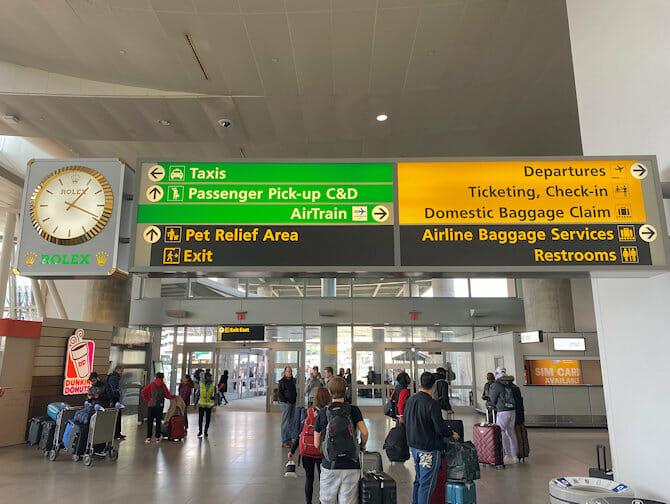 Transfert de l'Aeroport JFK a Manhattan