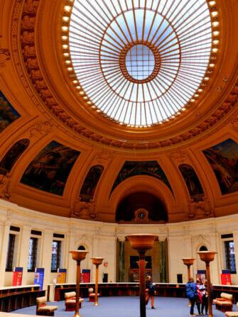 Musée de l'Amerindien NYC - Interieur