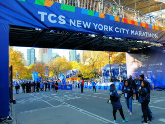 Marathon de New York - Ligne d'arrivée