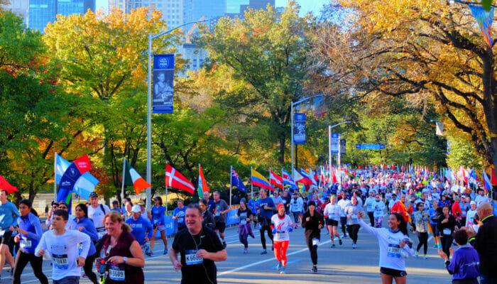 New York Marathon - Marathoniens Central Park