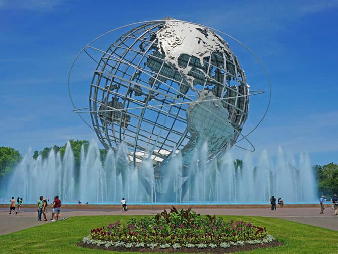 Queens à New York - Corona Park
