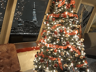 Dîner-Croisière du Réveillon de Noël à New York - Sapin de Noël