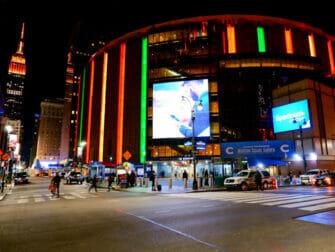 Madison Square Garden à New York - Extérieur