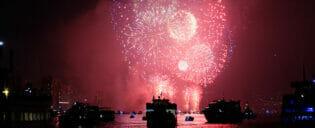 Le Reveillon du Nouvel An à New York