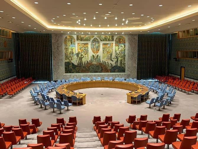 L'ONU à New York - Security Council Chamber