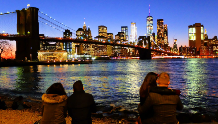 Brooklyn Bridge à New York - Horizon