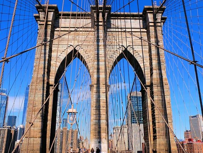 Brooklyn Bridge à New York