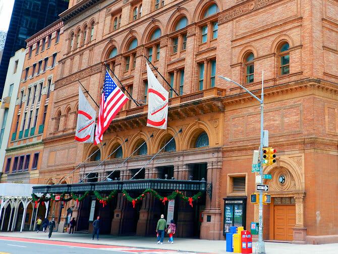 Carnegie Hall à New York