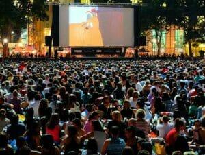 Cinéma gratuit dans Bryant Park
