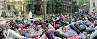 Cours de yoga gratuit à New York