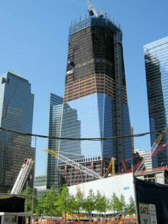 One World Trade Center - Freedom Tower en construction
