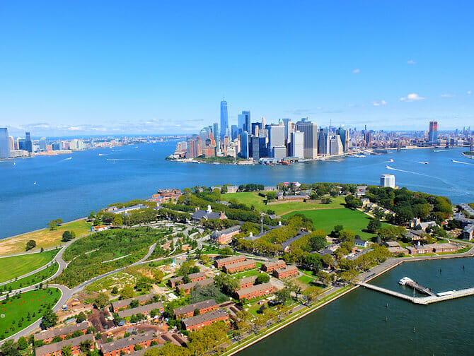 Governors Island a New York