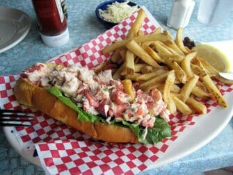 Boston Freedom Trail - Lobster Roll