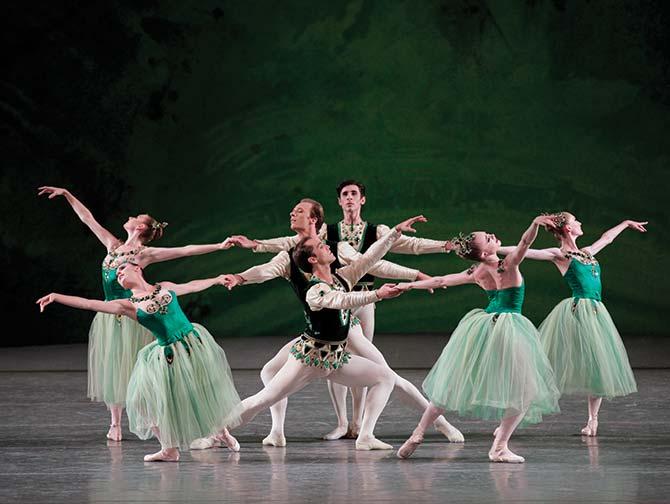 Billets pour un ballet a New York - Serenade en vert