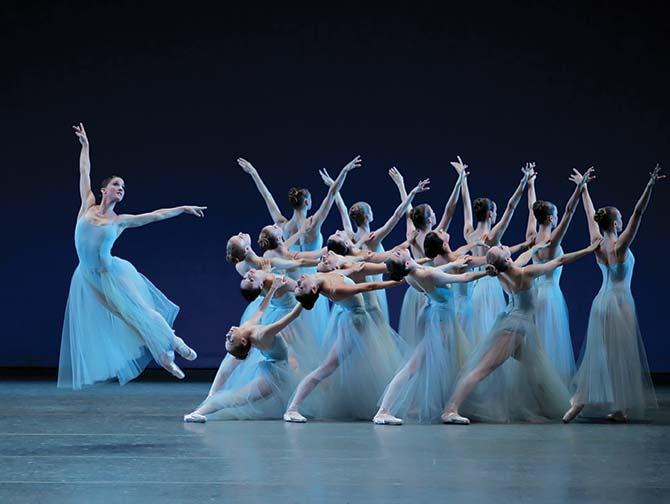 Billets pour un ballet a New York - Serenade