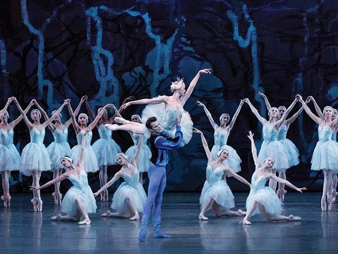 Billets pour un ballet a New York - Lac des cygnes