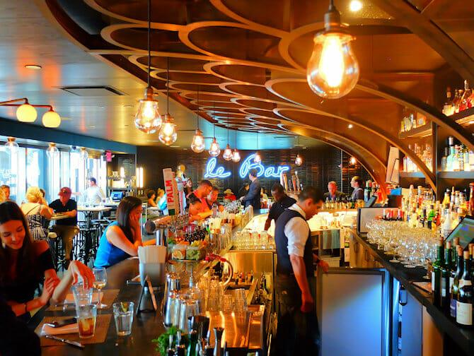 Les marchés de New York - Le Bar à Le District