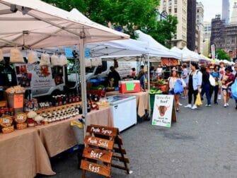 Les marchés de New York - Union Square Greenmarket