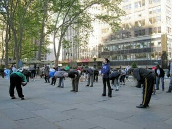 Tai Chi NYC - Cours Gratuit