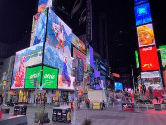 Times Square à New York - De nuit