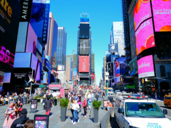 Times Square à New York - De jour