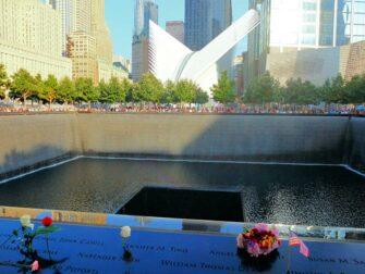 9/11 Museum à New York - Roses