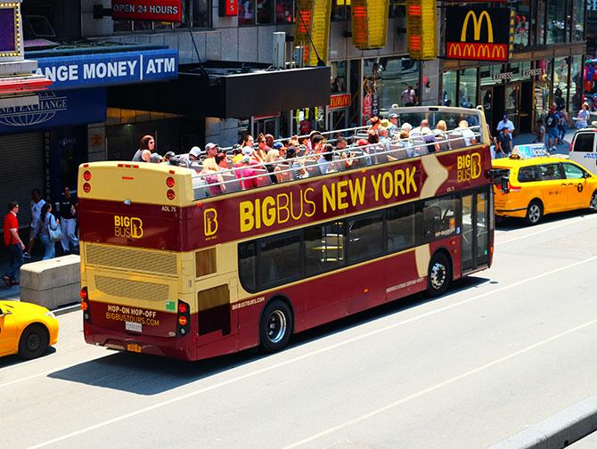 Big Bus a New York - Bus