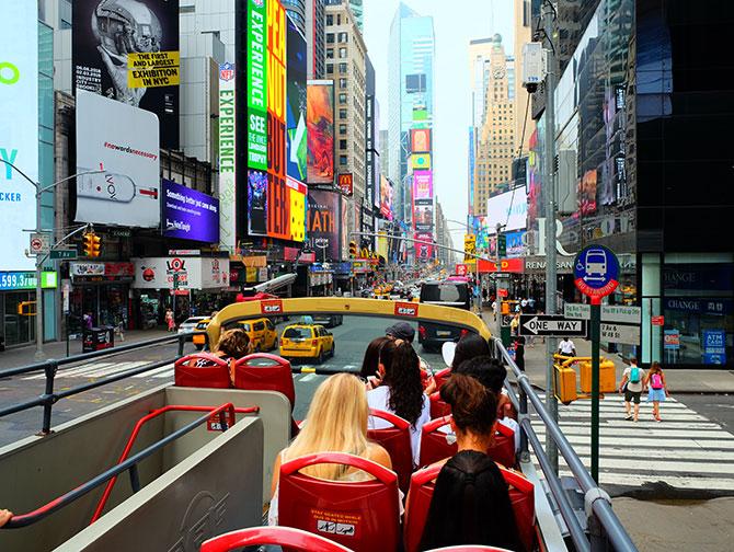 Big Bus a New York - Vue