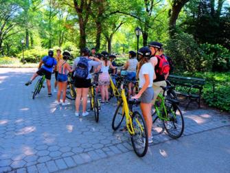 Central Park à New York - Location de vélos