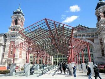 Ellis Island - Entrée musée