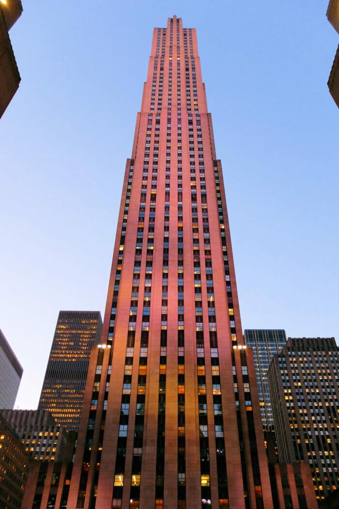 Rockefeller Center à New York - Comcast Building