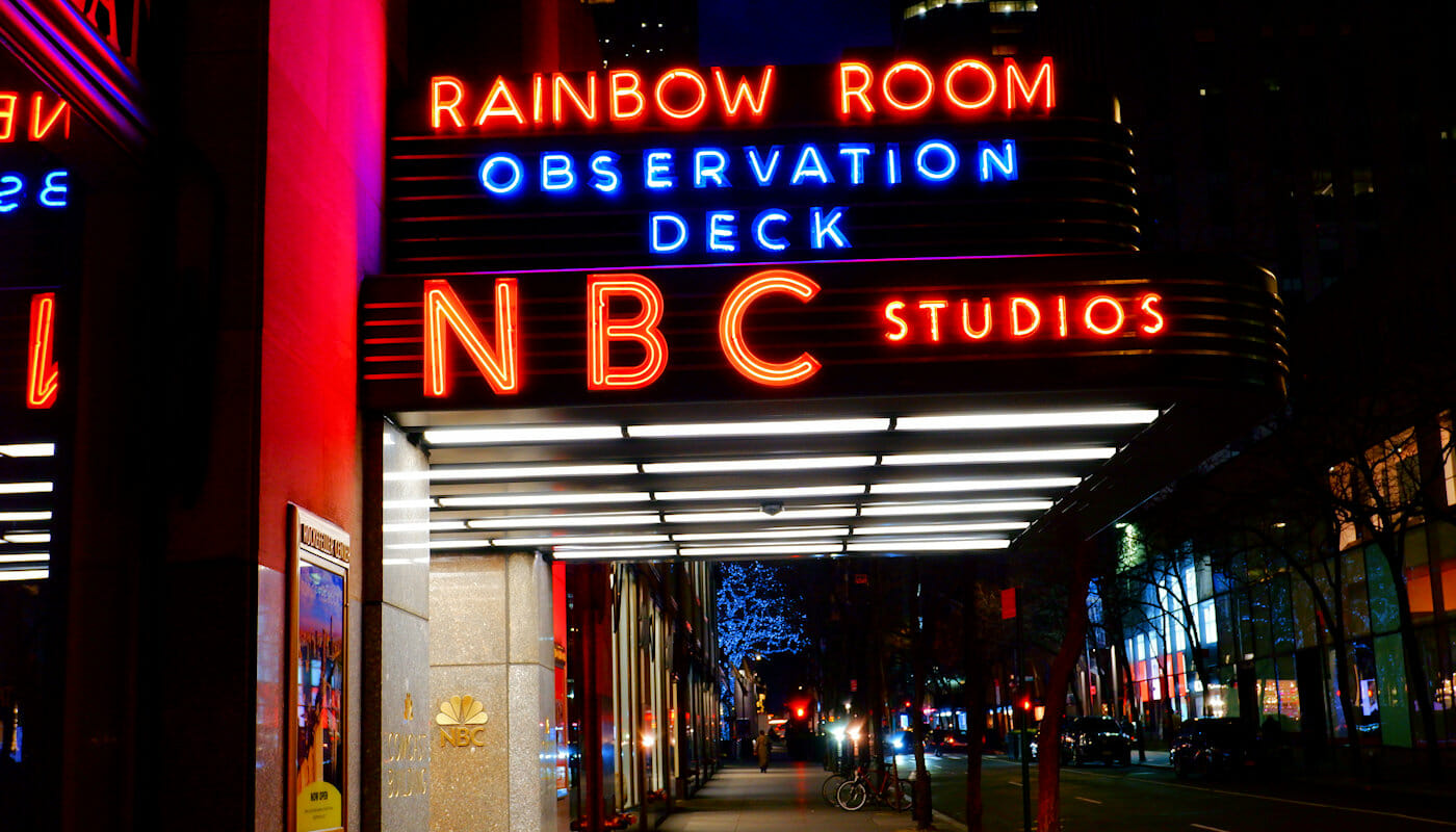 Rockefeller Center à New York - NBC